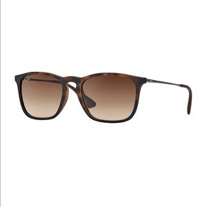 Chris Rubber ray bans in brown